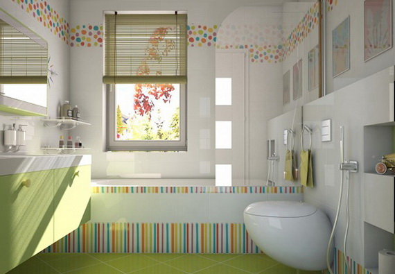 Stylish Bathroom Design Ideas for Kids 2014_19