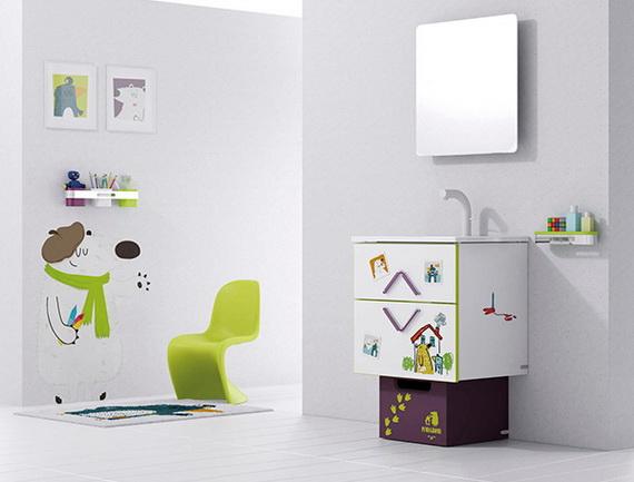 Stylish Bathroom Design Ideas for Kids 2014_21