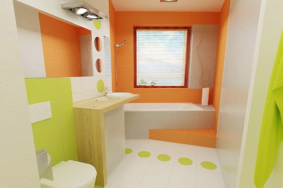 Stylish Bathroom Design Ideas for Kids 2014_28