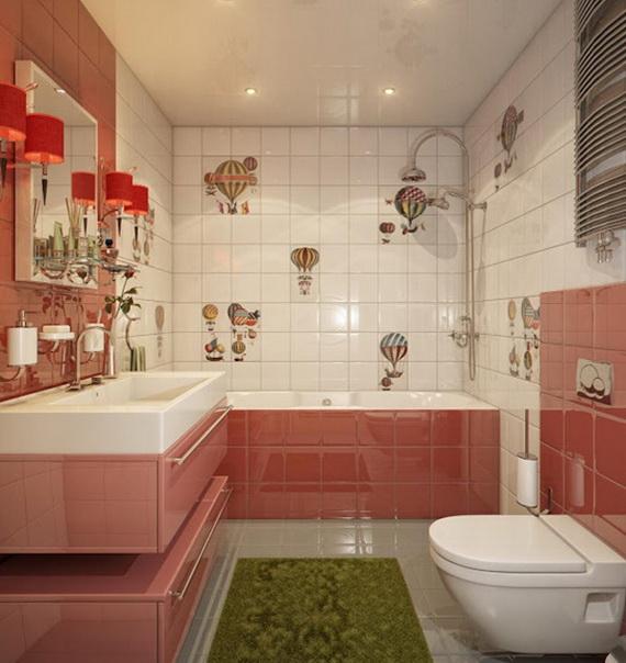 Stylish Bathroom Design Ideas for Kids 2014_31