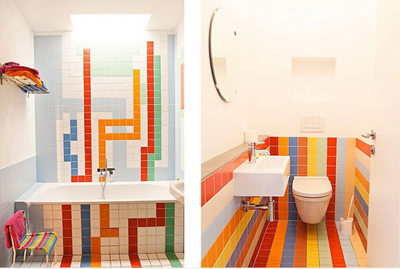 Stylish Bathroom Design Ideas for Kids 2014_33