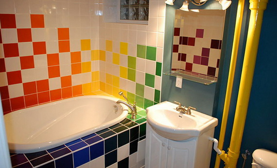 Stylish Bathroom Design Ideas for Kids 2014_34