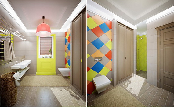 Stylish Bathroom Design Ideas for Kids 2014_35