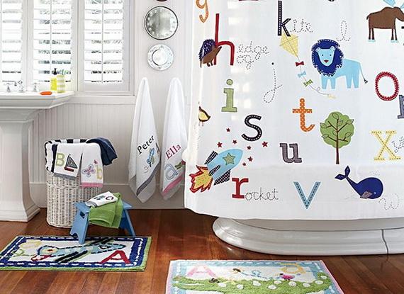 Stylish Bathroom Design Ideas for Kids 2014_38
