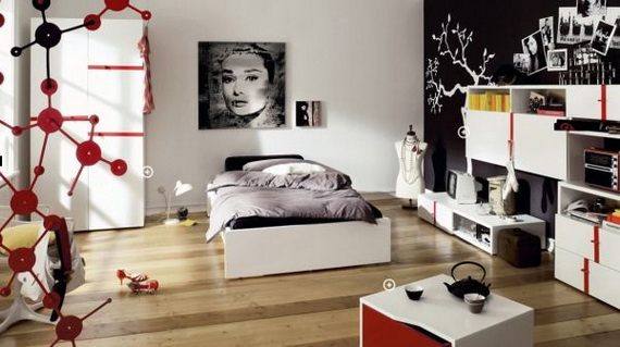 Stylish Teen Bedroom Design Ideas_009