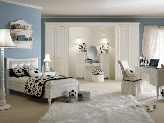 Stylish Teen Bedroom Design Ideas_010