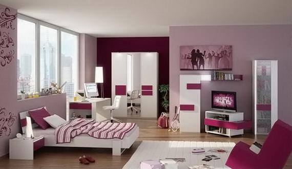 Stylish Teen Bedroom Design Ideas_011