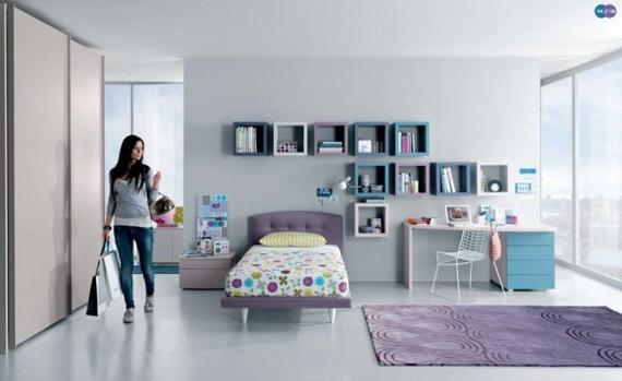 Stylish Teen Bedroom Design Ideas_012