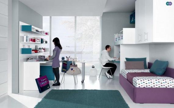 Stylish Teen Bedroom Design Ideas_046