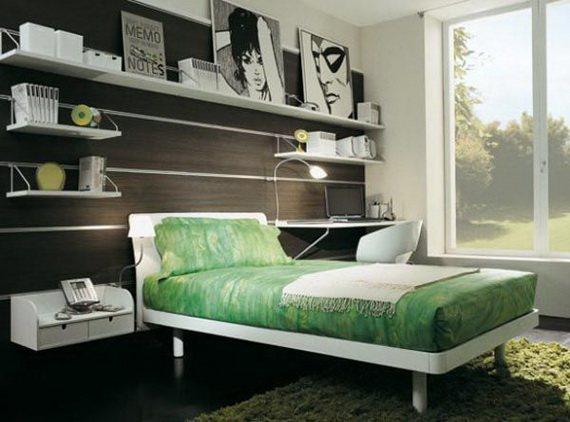 Stylish Teen Bedroom Design Ideas_099
