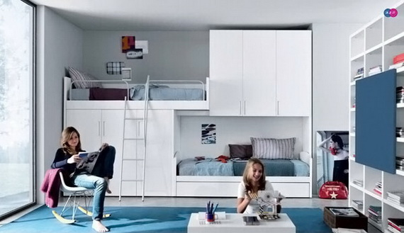 Stylish Teen Bedroom Design Ideas_108