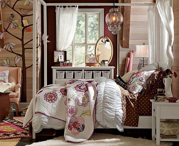 Stylish Teen Bedroom Design Ideas_131
