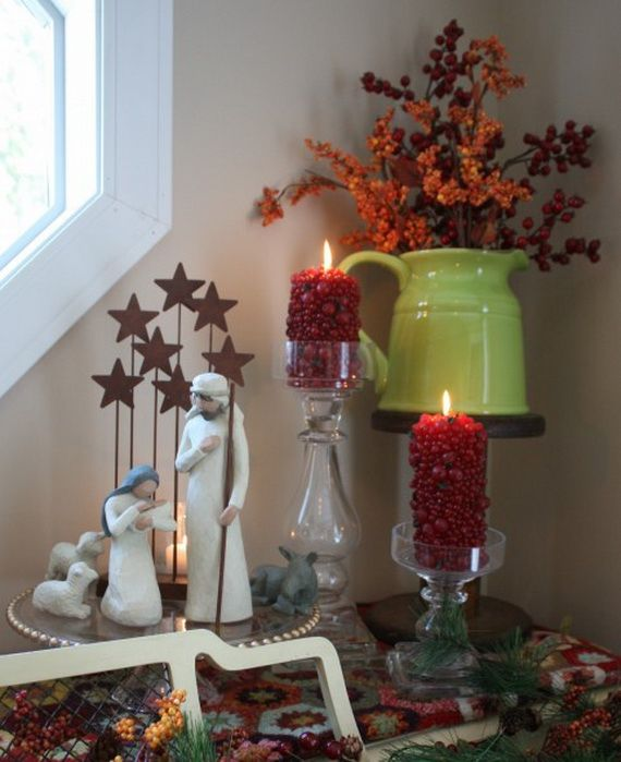 Top Christmas Decor Ideas For A Cozy Kitchen _03