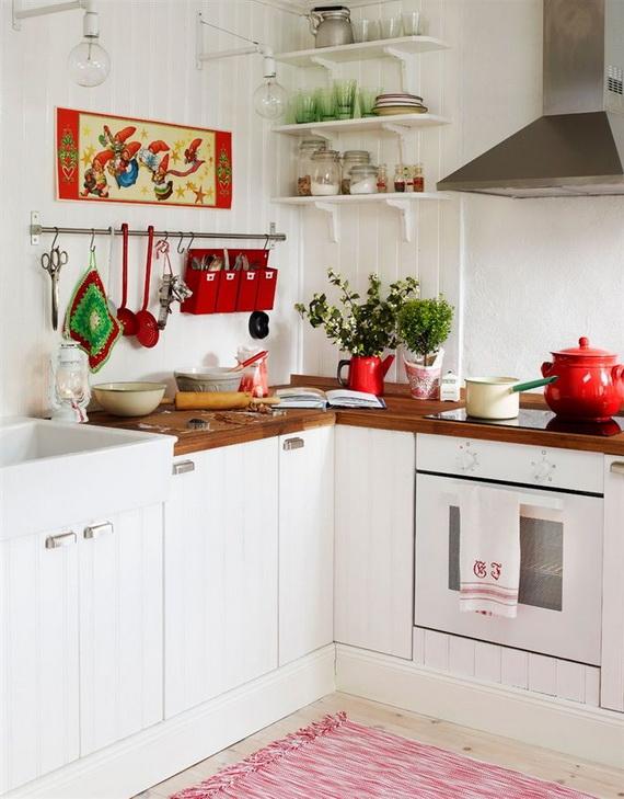 Top Christmas Decor Ideas For A Cozy Kitchen _08