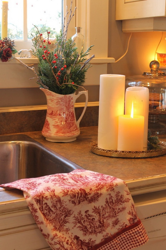 Top Christmas Decor Ideas For A Cozy Kitchen _12