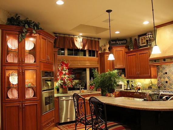 Top Christmas Decor Ideas For A Cozy Kitchen _15