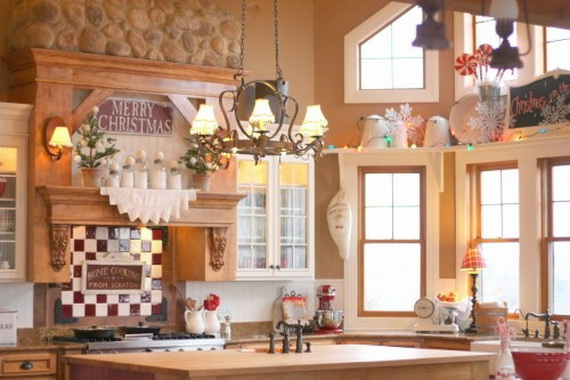 Top Christmas Decor Ideas For A Cozy Kitchen _19
