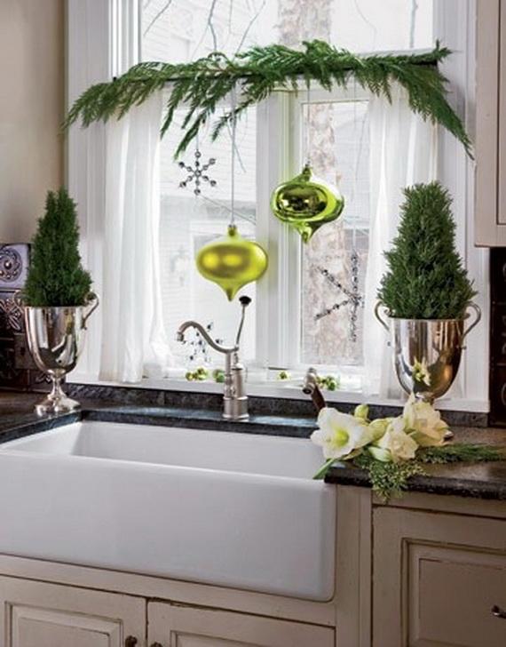 Top Christmas Decor Ideas For A Cozy Kitchen _23