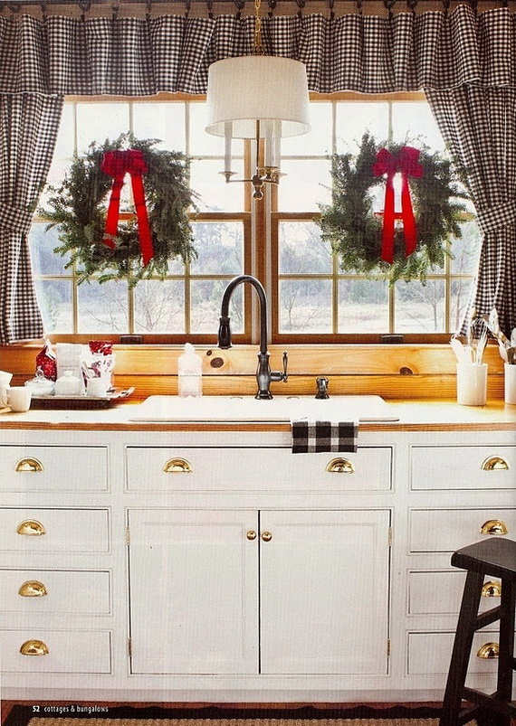 Top Christmas Decor Ideas For A Cozy Kitchen _25