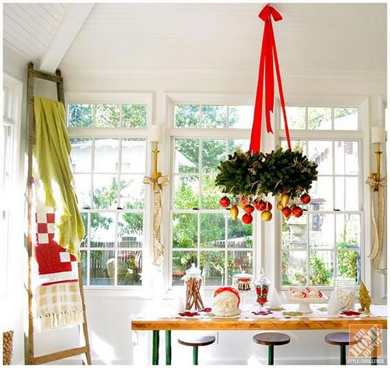Top Christmas Decor Ideas For A Cozy Kitchen _26