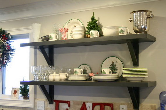 Top Christmas Decor Ideas For A Cozy Kitchen _29