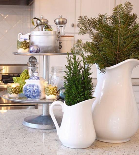 Top Christmas Decor Ideas For A Cozy Kitchen _32
