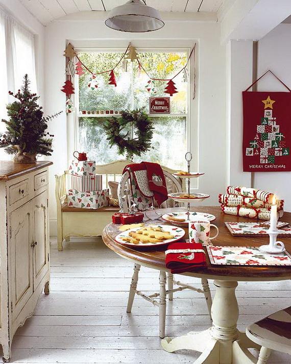 Top Christmas Decor Ideas For A Cozy Kitchen _35
