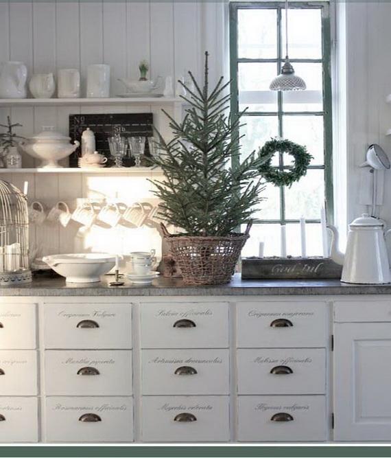 Top Christmas Decor Ideas For A Cozy Kitchen _36