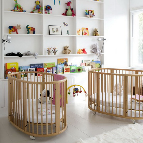 Top Nursery Decorating Theme Ideas and Designs _07