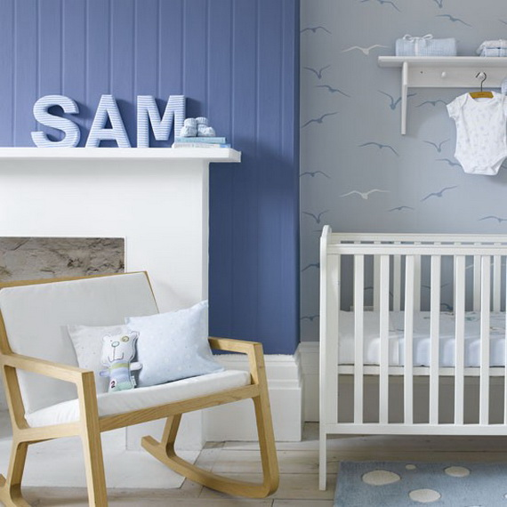 Top Nursery Decorating Theme Ideas and Designs _09