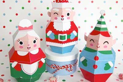 Pretty Paper Christmas Craft & Decoration Ideas