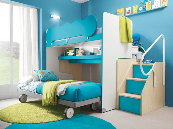 Vibrant and Lively Twin- Kids Bedroom Designs_07