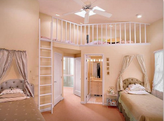 Vibrant and Lively Twin- Kids Bedroom Designs_16