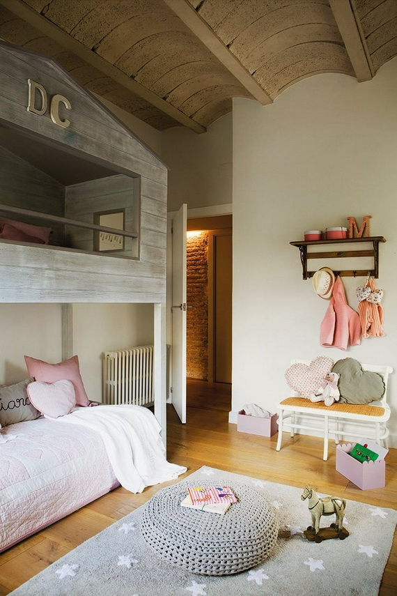 Vibrant and Lively Twin- Kids Bedroom Designs_27