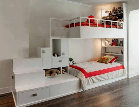 Vibrant and Lively Twin- Kids Bedroom Designs_28