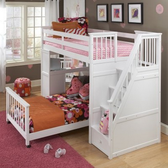 Vibrant and Lively Twin- Kids Bedroom Designs_29