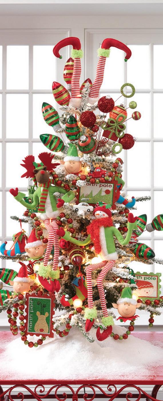 2014 RAZ Aspen Sweater Christmas Decorating Ideas_008