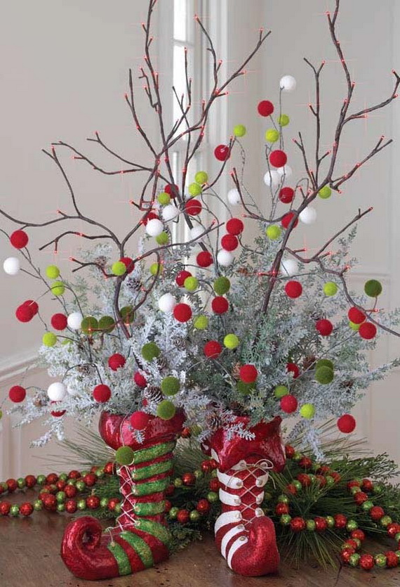 2014 RAZ Aspen Sweater Christmas Decorating Ideas_015