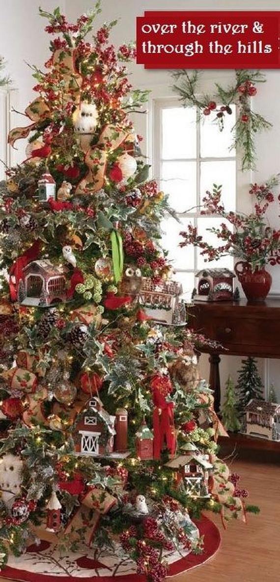 2014 RAZ Aspen Sweater Christmas Decorating Ideas_022