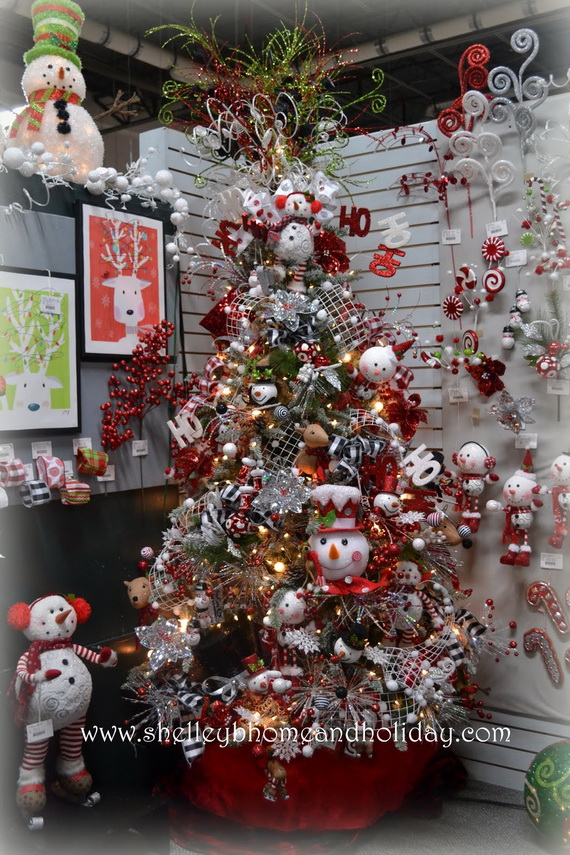 2014 RAZ Aspen Sweater Christmas Decorating Ideas_027