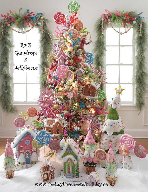 2014 RAZ Aspen Sweater Christmas Decorating Ideas_056