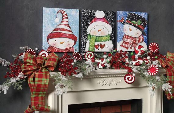 2014 RAZ Aspen Sweater Christmas Decorating Ideas_062
