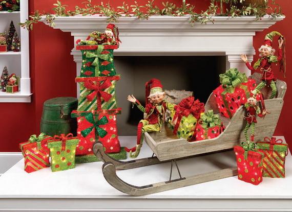 2014 RAZ Aspen Sweater Christmas Decorating Ideas_081