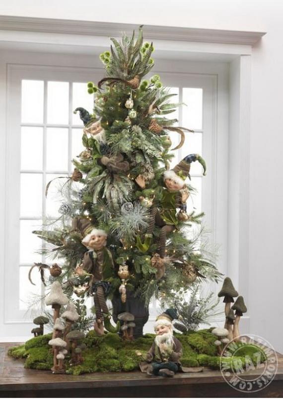 2014 RAZ Aspen Sweater Christmas Decorating Ideas_091