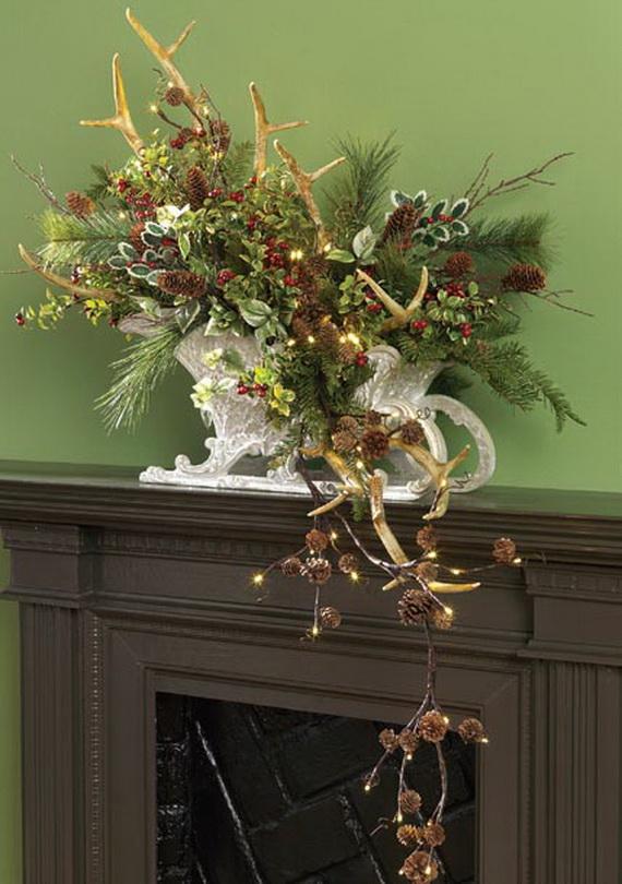 2014 RAZ Aspen Sweater Christmas Decorating Ideas_096
