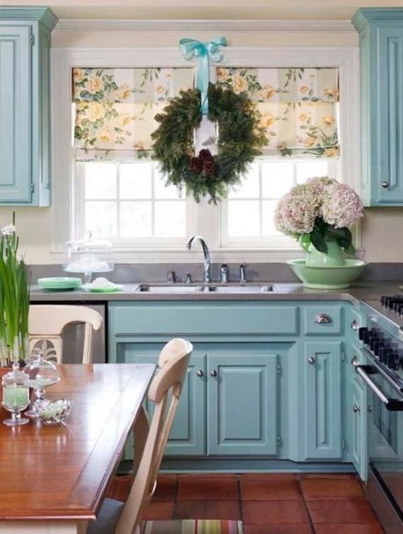 50 Magnificent Coastal-Themed Christmas Interior Decor_35