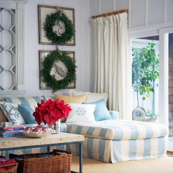 50 Magnificent Coastal-Themed Christmas Interior Decor_50