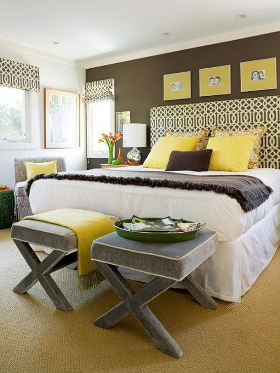 Elegant Bedroom design Ideas With A Lovely Color Scheme _23