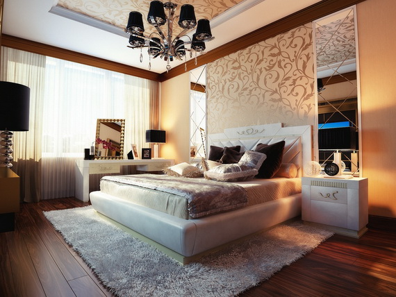 Elegant Bedroom design Ideas With A Lovely Color Scheme _33