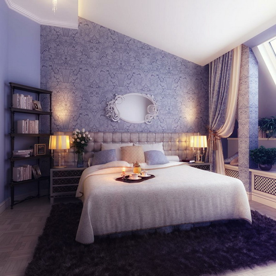 Elegant Bedroom design Ideas With A Lovely Color Scheme _35